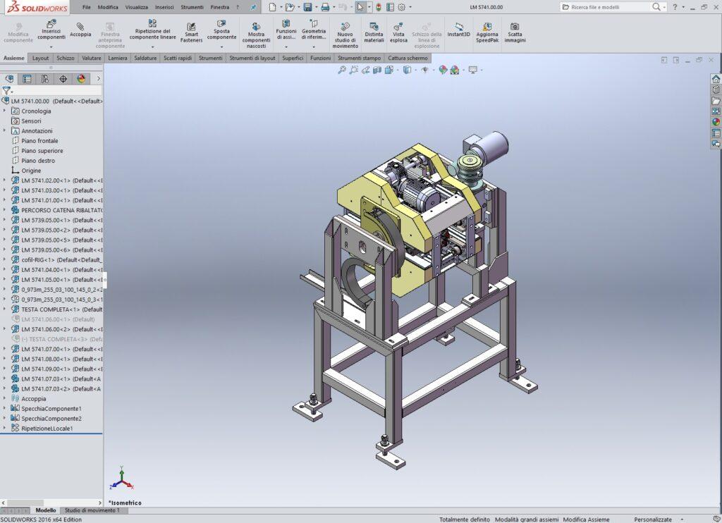 Progettazione meccanica la meccanica oriente for Software di progettazione domestica personalizzato