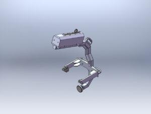 Gancio motore progetto